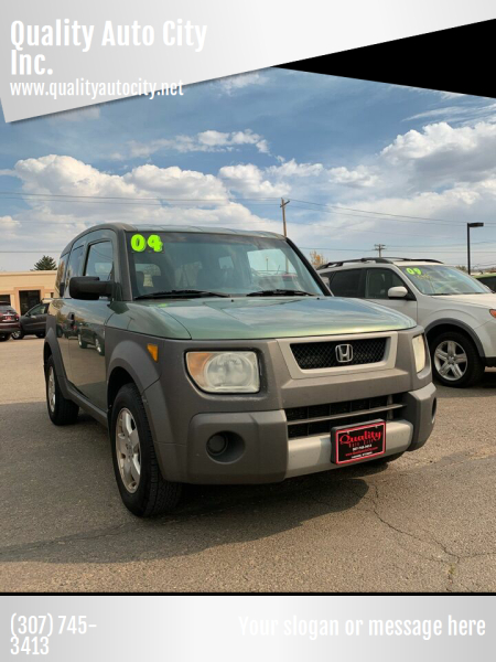 2004 Honda Element for sale at Quality Auto City Inc. in Laramie WY