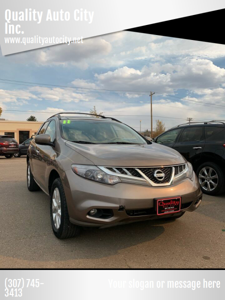 2011 Nissan Murano for sale at Quality Auto City Inc. in Laramie WY