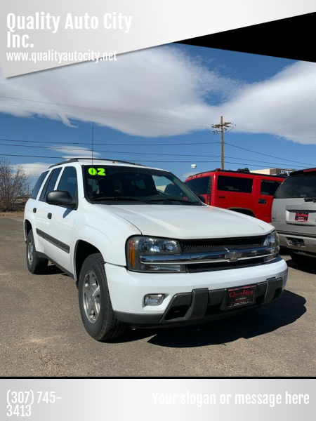 2002 Chevrolet TrailBlazer for sale at Quality Auto City Inc. in Laramie WY