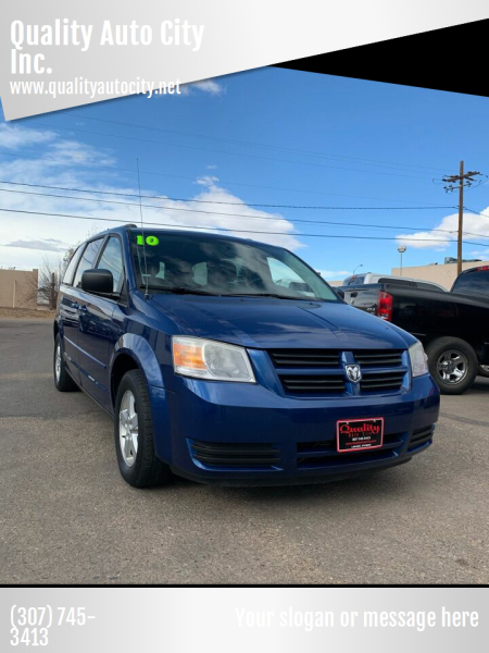 2010 Dodge Grand Caravan for sale at Quality Auto City Inc. in Laramie WY