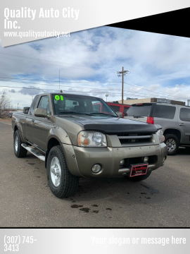 2001 Nissan Frontier for sale at Quality Auto City Inc. in Laramie WY