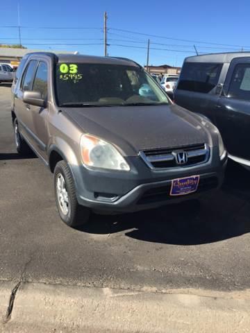 2003 Honda CR-V for sale at Quality Auto City Inc. in Laramie WY
