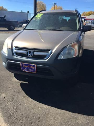 2003 Honda CR-V for sale at Quality Auto City Inc. in Laramie WY