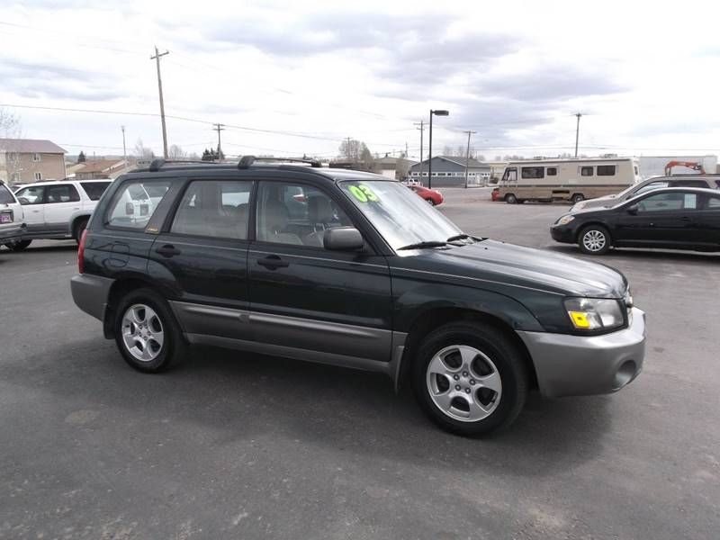 2003 Subaru Forester for sale at Quality Auto City Inc. in Laramie WY