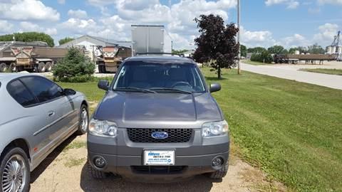 2005 Ford Escape for sale at Allen Auto & Tire in Britt IA