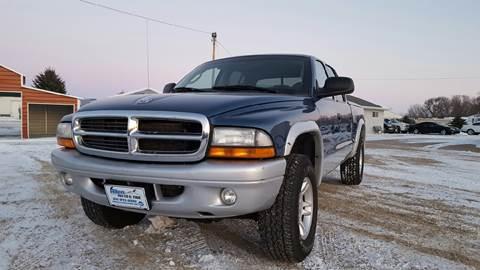 2002 Dodge Dakota for sale at Allen Auto & Tire in Britt IA