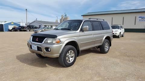 2001 Mitsubishi Montero Sport for sale at Allen Auto & Tire in Britt IA