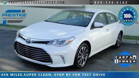 2016 Toyota Avalon for sale in Lexington, KY