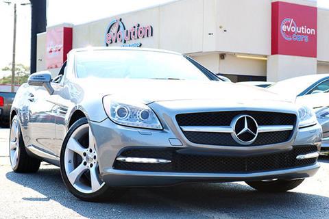 2012 Mercedes Benz SLK For Sale In Conyers, GA