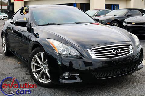 2011 Infiniti G37 Convertible for sale in Conyers, GA