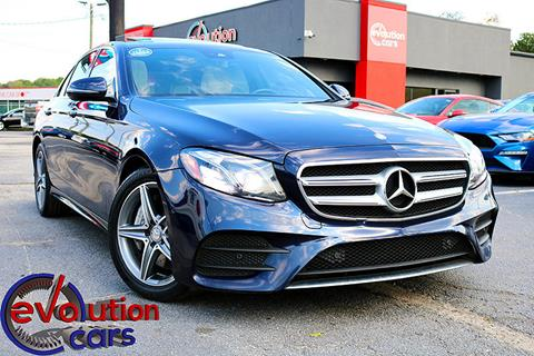2017 Mercedes-Benz E-Class for sale in Conyers, GA