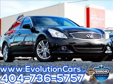 2010 Infiniti G37 Sedan for sale in Conyers, GA