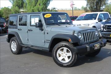 2014 Jeep Wrangler Unlimited for sale in Selma, CA