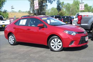 2016 Toyota Corolla for sale in Selma, CA