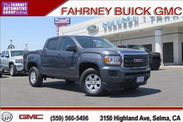 2017 GMC Canyon for sale in Selma, CA