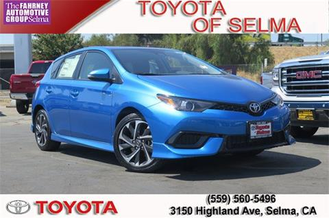 2017 Toyota Corolla iM for sale in Selma, CA