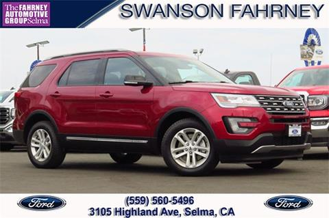 2017 Ford Explorer for sale in Selma, CA