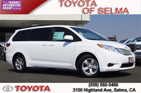 2017 Toyota Sienna for sale in Selma, CA