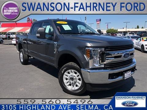 2018 Ford F-250 Super Duty for sale in Selma, CA