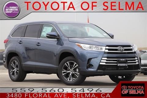 2019 Toyota Highlander for sale in Selma, CA