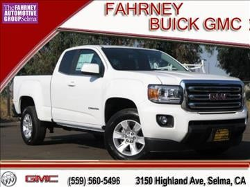 2016 GMC Canyon for sale in Selma, CA
