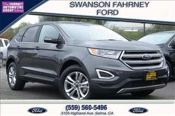 2017 Ford Edge for sale in Selma, CA