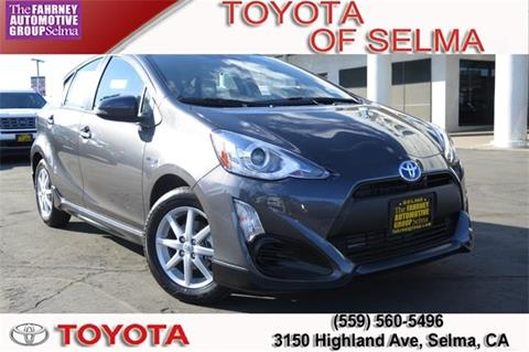 2017 Toyota Prius c for sale in Selma, CA