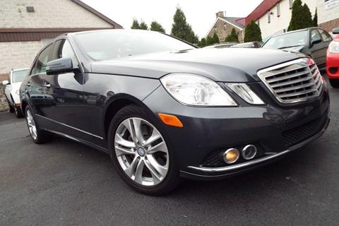 2010 Mercedes-Benz E-Class for sale in Wyncote, PA
