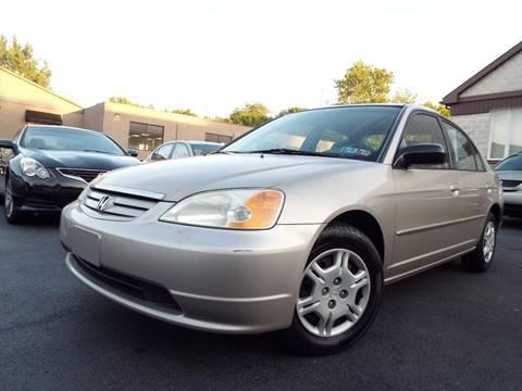 2002 Honda Civic for sale in Wyncote, PA