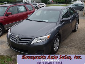 2010 Toyota Camry for sale at Honeycutt's Auto Sales, Inc. in Coats NC