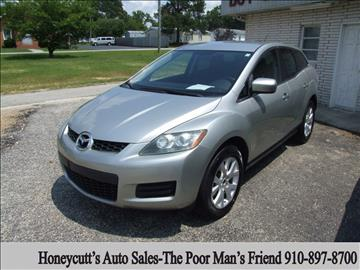 2009 Mazda CX-7 for sale at Honeycutt's Auto Sales, Inc. in Coats NC