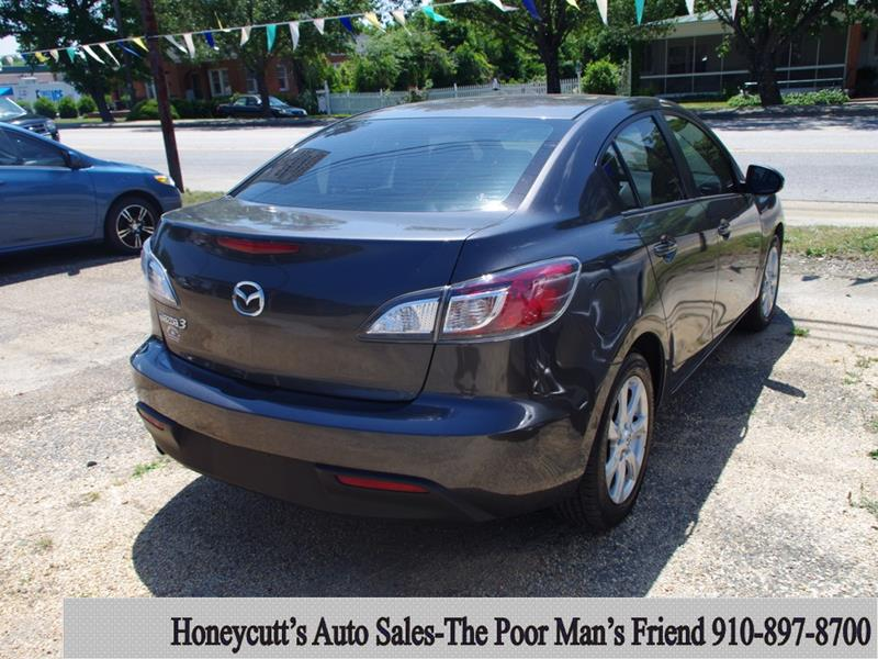 2010 Mazda MAZDA3 for sale at Honeycutt's Auto Sales, Inc. in Coats NC