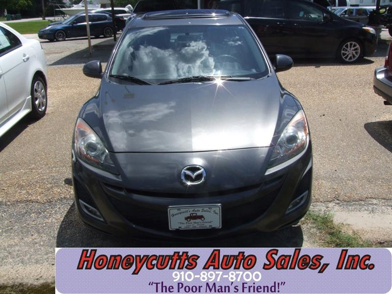 2011 Mazda MAZDA3 for sale at Honeycutt's Auto Sales, Inc. in Coats NC