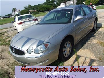 2006 Buick LaCrosse for sale at Honeycutt's Auto Sales, Inc. in Coats NC