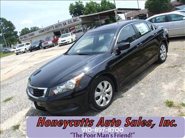 2010 Honda Accord for sale at Honeycutt's Auto Sales, Inc. in Coats NC