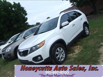 2011 Kia Sorento for sale at Honeycutt's Auto Sales, Inc. in Coats NC