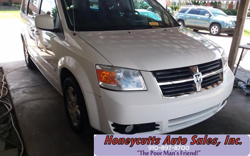 2008 Dodge Grand Caravan for sale at Honeycutt's Auto Sales, Inc. in Coats NC