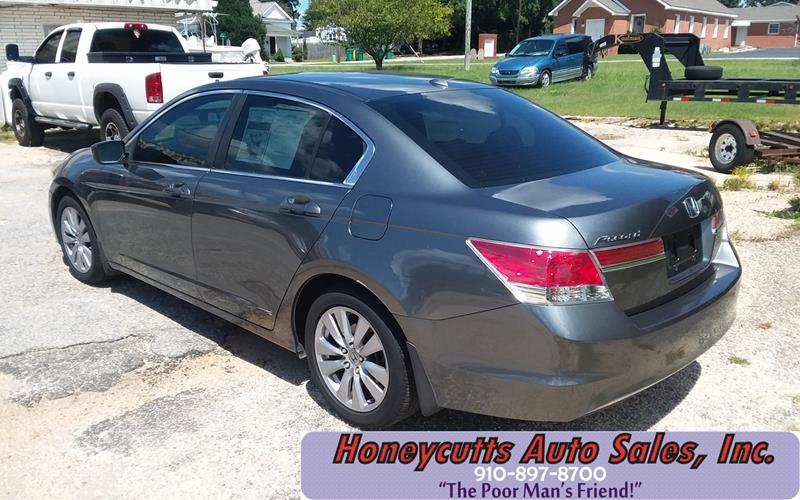 2012 Honda Accord for sale at Honeycutt's Auto Sales, Inc. in Coats NC