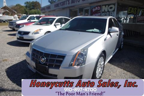 2010 Cadillac CTS for sale at Honeycutt's Auto Sales, Inc. in Coats NC