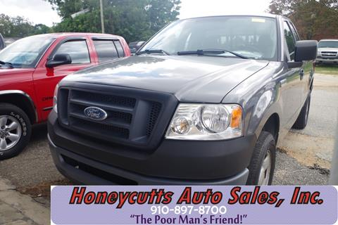 2006 Ford F-150 for sale at Honeycutt's Auto Sales, Inc. in Coats NC