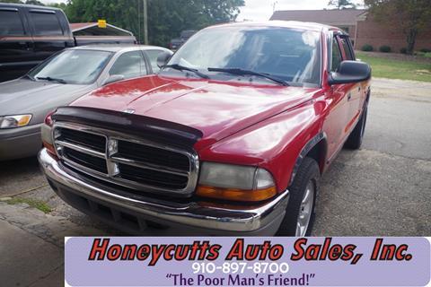 2003 Dodge Dakota for sale at Honeycutt's Auto Sales, Inc. in Coats NC