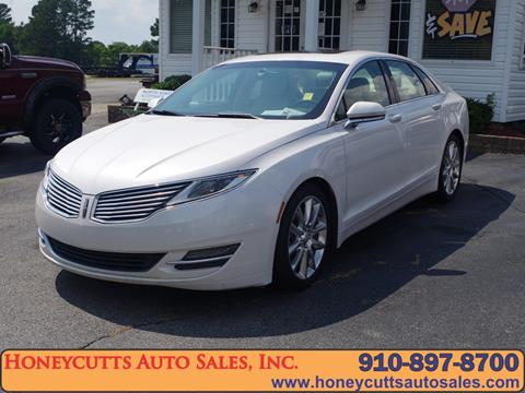 2013 Lincoln Mkz For Sale >> 2013 Lincoln Mkz For Sale In Erwin Nc
