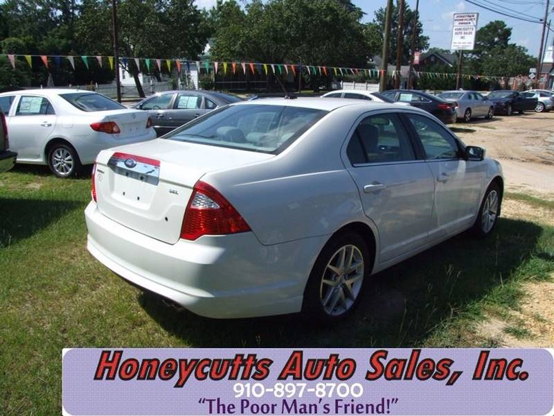 2010 Ford Fusion for sale at Honeycutt's Auto Sales, Inc. in Coats NC