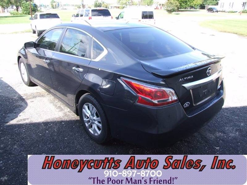 2014 Nissan Altima for sale at Honeycutt's Auto Sales, Inc. in Coats NC