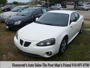 2007 Pontiac Grand Prix for sale at Honeycutt's Auto Sales, Inc. in Coats NC
