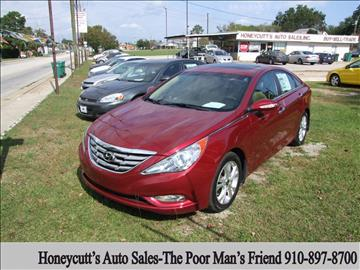 2011 Hyundai Sonata for sale at Honeycutt's Auto Sales, Inc. in Coats NC