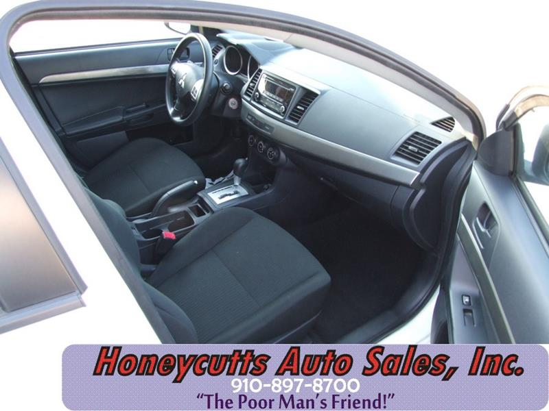 2015 Mitsubishi Lancer for sale at Honeycutt's Auto Sales, Inc. in Coats NC