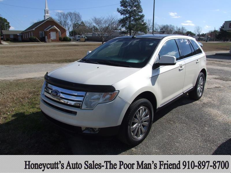 2008 Ford Edge for sale at Honeycutt's Auto Sales, Inc. in Coats NC