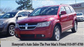 2010 Dodge Journey for sale at Honeycutt's Auto Sales, Inc. in Coats NC
