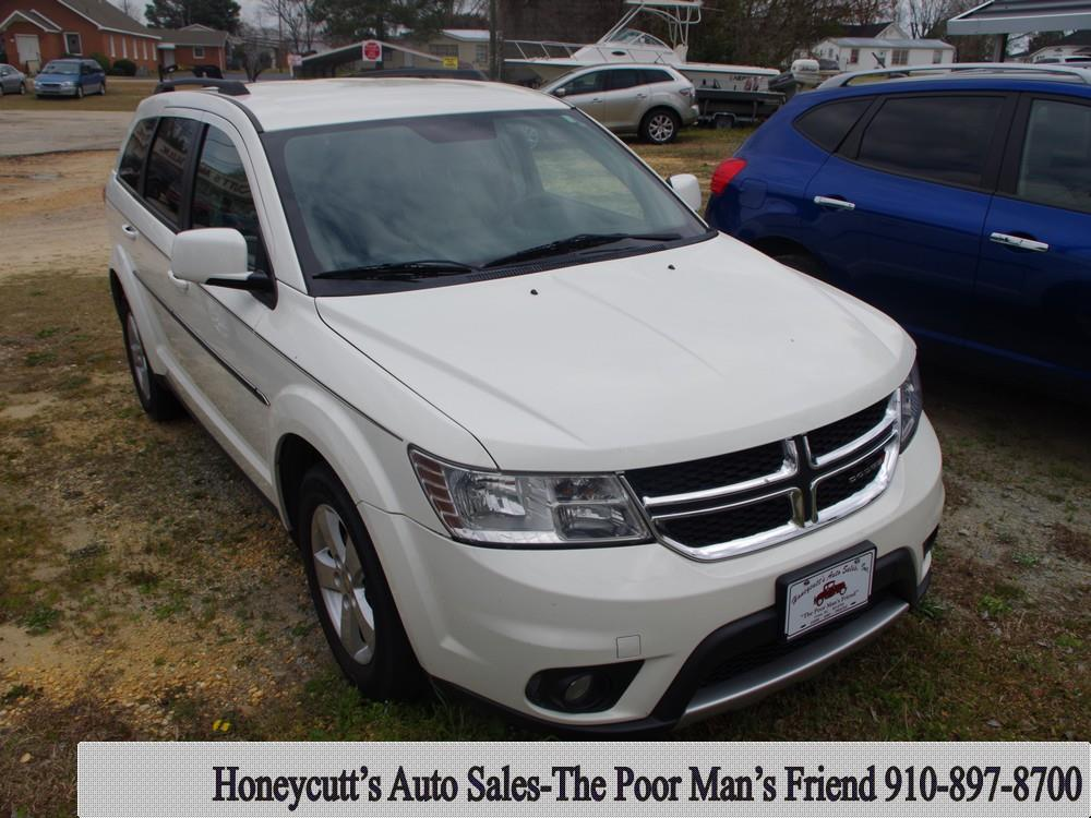 2012 Dodge Journey for sale at Honeycutt's Auto Sales, Inc. in Coats NC